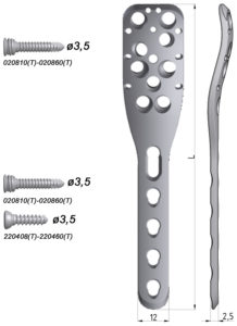 Płytka blokowana do nasady bliższej kości ramiennej